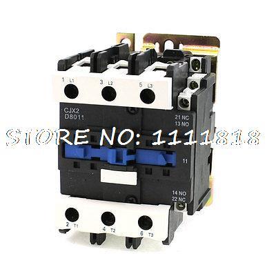 50/60Hz Coil Frequency 3 Phase 1NO 1NC Motor Controller AC Contactor 660V 125A датчик тс 125 50 м в2 60