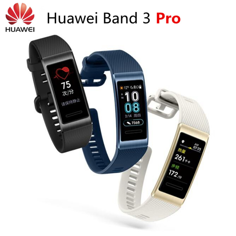 Huawei Band 3 Pro Band 3 Smart Bracelet band 3 0.95 inch Tracker Swimming Waterproof Bluetooth Fitness Tracker Touch Screen-in Smart Wristbands from Consumer Electronics    1