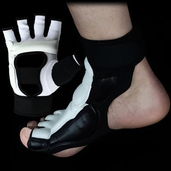 Gorąca sprzedaż taekwondo ochraniacz na skarpety dla dorosłych dziecko podbicia kostki wsparcie KAT oficjalnym konkursie sztuki walki karate podnóżek