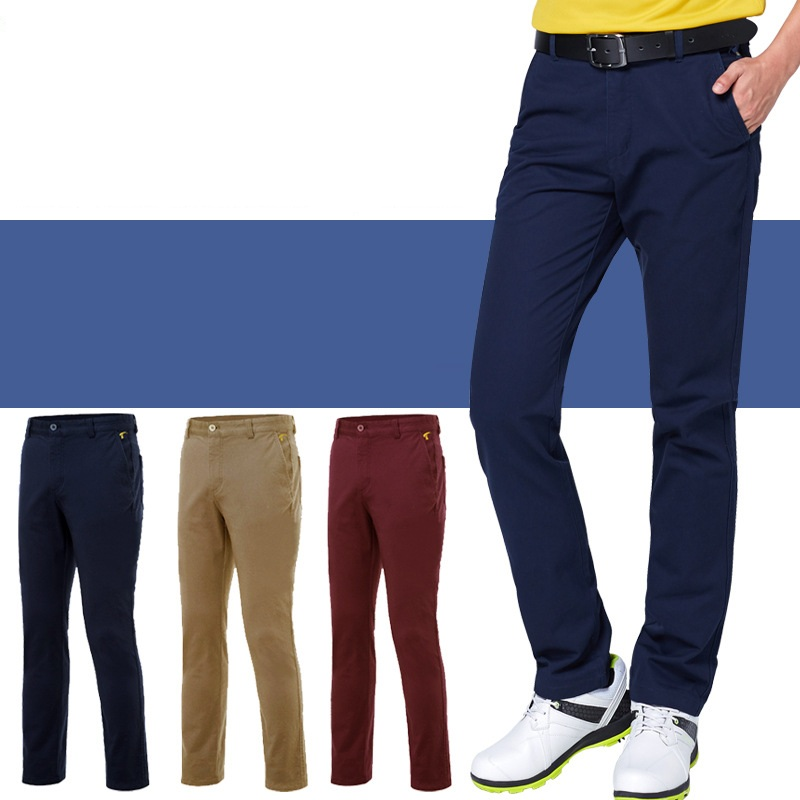 Golf Clubs Golf Clothing Mens Pants Breathable Golf Trousers For Men Quick Dry Slim Fit Full Length Size Xxs-Xxxl Apparel D0652