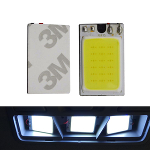 Image 5 - 2x Car C5W LED COB Bulb Fstoon Interior Dome Reading Light T10 W5W Auto Luggage Trunk License Plate Lamp Super Bright Whit 12V