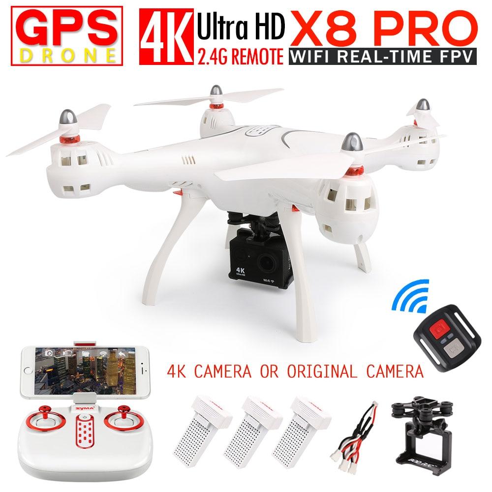 SYMA X8 PRO GPS RC Quadcopter FPV RC Drone con 720 p fotocamera O H9R 4 k/1080 p Macchina Fotografica di WIFI 2.4G-Axis VS X8PRO RC elicottero