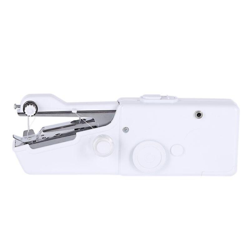 Máquina de coser portátil para el hogar, Mini puntada eléctrica, tela de sastre para el hogar, coser artesanías, DIY, borde de ganchillo
