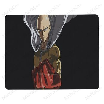 MaiYaCa Boy Gift Pad One Punch Man Anime Mouse Pad for Laptop Laptop Gaming Mice Mousepad 1