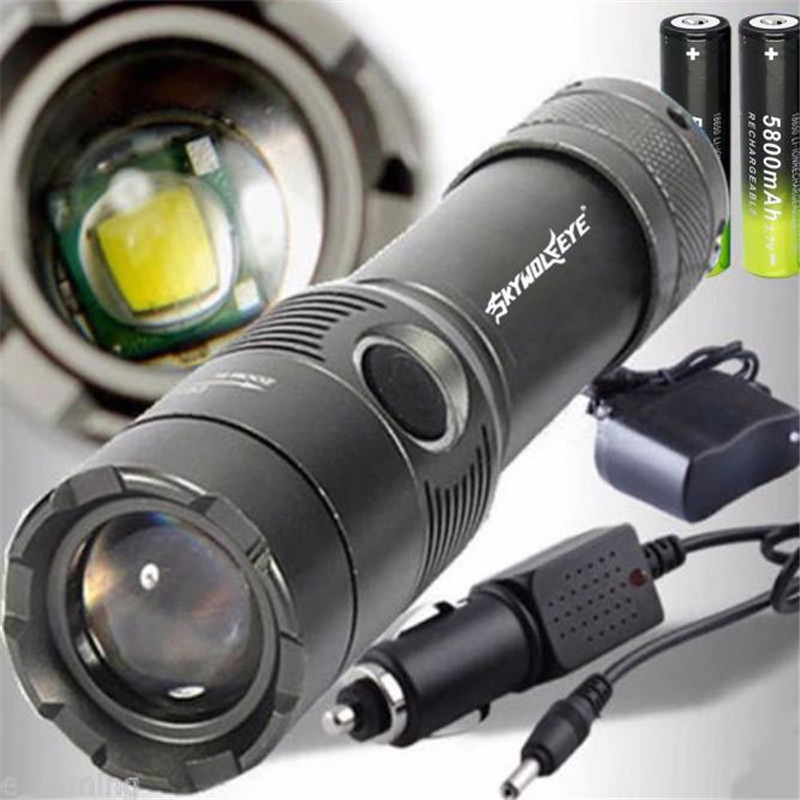 3500LM Bicycle Light Light XM L T6 font b LED b font Rechargeable font b Flashlight