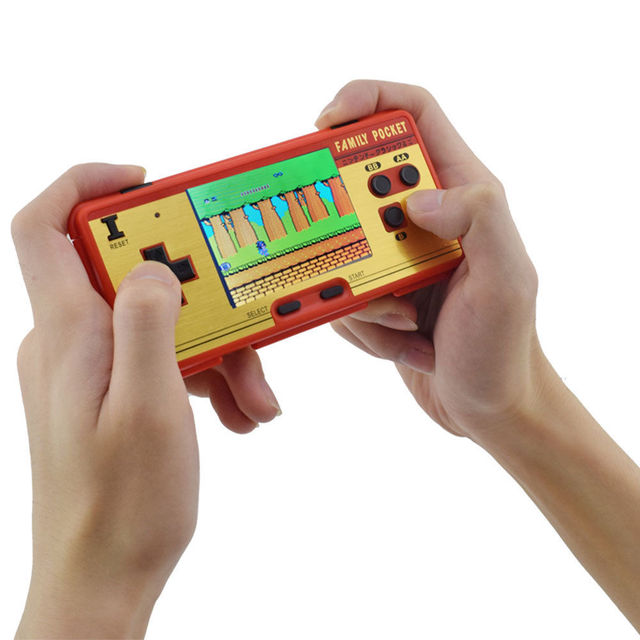 Mini Retro Portable Handheld Game Player Family Pocket Built in 638 Games  8 Bit Portable Video Console Durable Best Gift