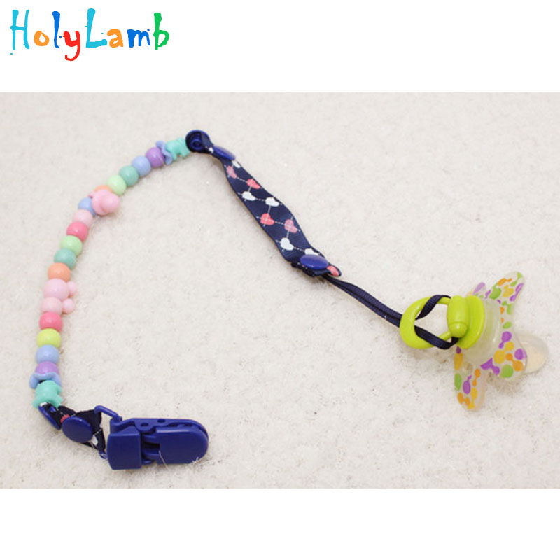 1pcs Baby Pacifier Chain Clip Feed Пупификаторлар Baby - Азықтандыру - фото 6