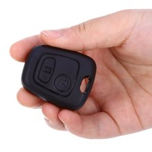 C66 Car Remote Key Holder Case Shell 2-button Protecting Cover for Peugeot  Easy to Install Protect Buttons From Excessive Wear