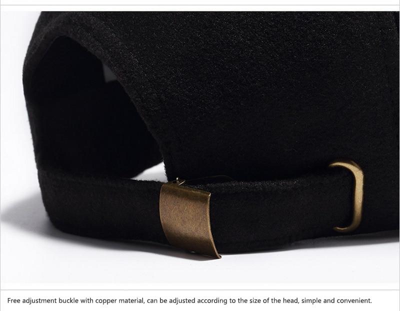 Cork Brim Baseball Cap - Black Strap Detail
