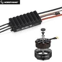 1set Hobbywing XRotor FOC Power System Combo Brushless 8120 100KV Motor + HV 80A FOC V3 ESC for FPV Racing Quadcopter+retail box