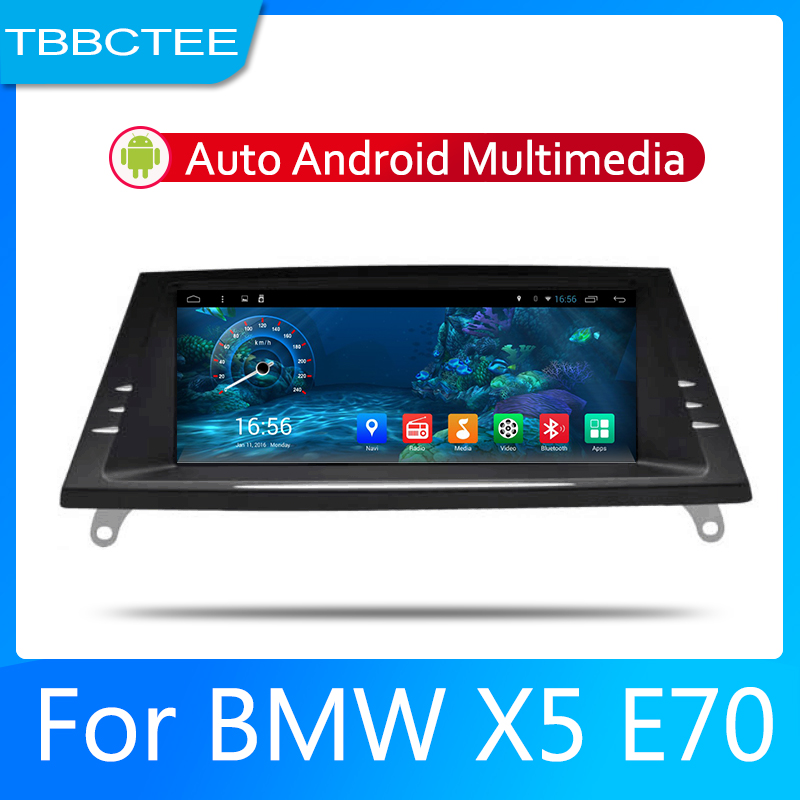 2din Car multimedia Android Autoradio Car Radio GPS player For <font><b>BMW</b></font> <font><b>X5</b></font> <font><b>E70</b></font> 2011-2013 CIC <font><b>Bluetooth</b></font> WiFi Mirror link Navi image