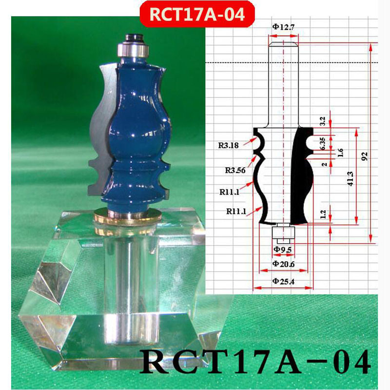 все цены на Industry Quality Carbide Wood Working Line Shape Molding Router Cutter Bits V Groove ( RCT17A-04 ) онлайн