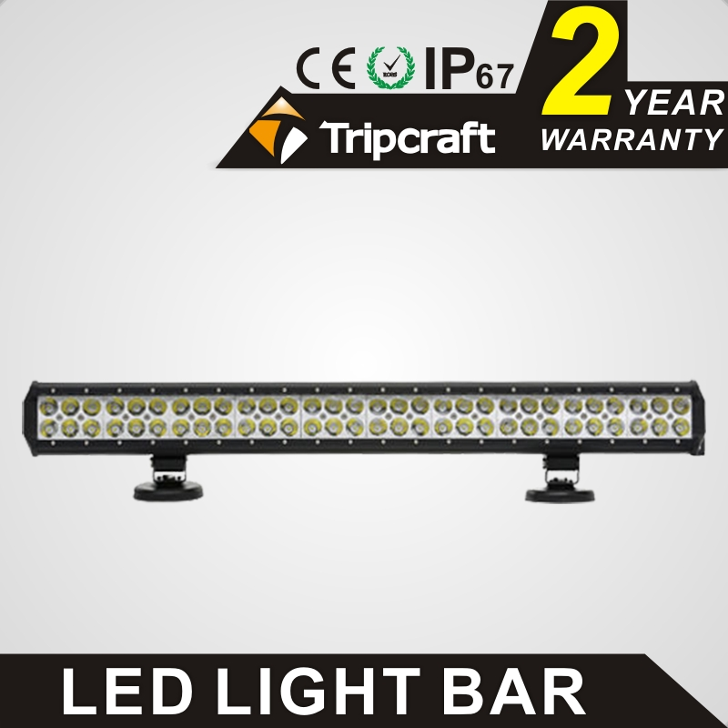 TRIPCRAFT 180w led work light bar 28inch spot flood combo beam car light for offroad 4x4 truck SUV ATV 4WD driving lamp fog lamp spot flood combo 72w led working lights 12v 72w light bar ip67 for tractor truck trailer off roads 4x4 led work light
