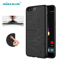 Nillkin QI Wireless Charging Receiver Magic Phone Case For Oneplus 5 5 5 Magnetic Matte Phone