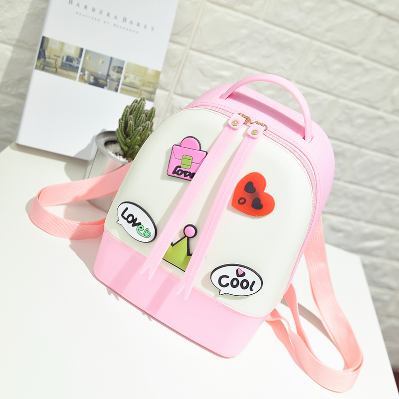 Saco de escola para meninas de Praia geléia saco mochila escolar mochila infantil de menina mochilas para meninas adolescentes bolsa feminina