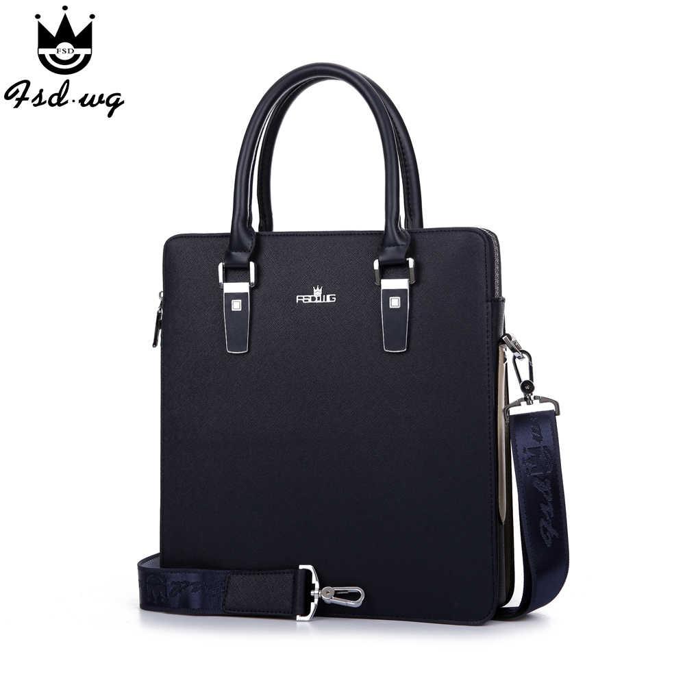 d04bb42c4212 Новинка! Мужские сумки портфель деловая сумка-мессенджер Стереотип  искусственная кожа мужская сумка сумки мужские