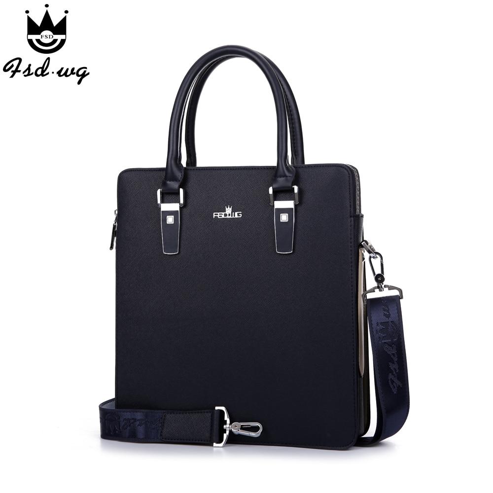NEW! men handbag briefcase business messenger stereotype pu leather mens shoulder bag bags men's crossbody bags bolsos wholesale