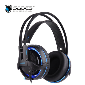 Image 2 - SADES Diablo Realtek Effect Gamer Headphones RGB Gaming Headset Headphone with Retractable Microphone