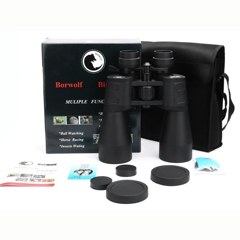 Borwolf 10-380X100 alta magnificación de largo alcance de zoom de 10-60 veces caza telescopio binoculares HD profesional de Zoom - 6