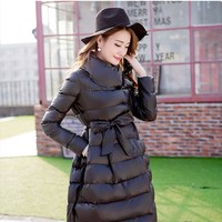 Hot Sale 2017 New Winter Women Cotton Coat Fashion Leisure Thick Female Wadded Jacket High Quality