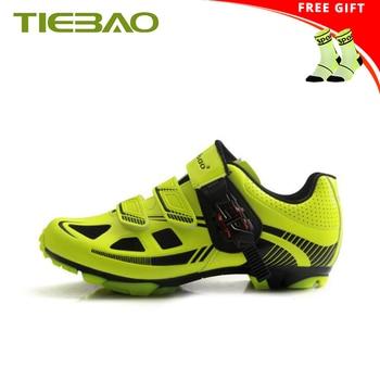 Tiebao 2019 обувь для горного велосипеда mtb велосипедные кроссовки bicicleta самоблокирующиеся дышащие SPD superstar original велосипедные mtb туфли