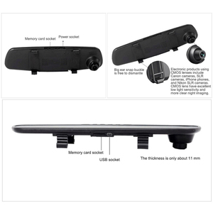 Image 3 - 2.8 인치 HD 1080 P 자동차 DVR 120 학위 비디오 레코더 12.0MP 자동차 대시 카메라 자동차 DVR 카메라