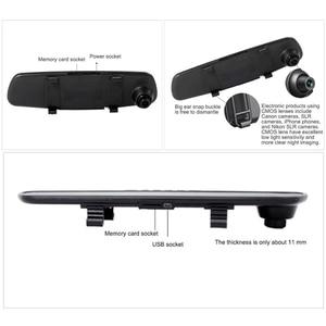 Image 3 - 2,8 pulgadas HD 1080P coche DVR espejo 120 grados conducción automática grabadora de vídeo 12.0MP cámara de salpicadero coche DVR Cámara