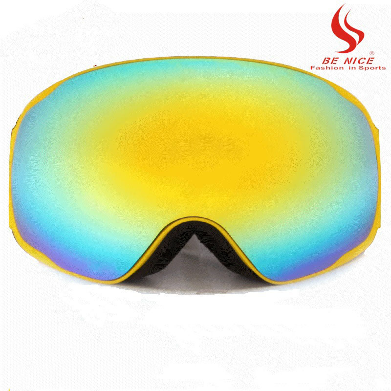 Ski Goggles Polarization Unisex Increased Clarity Radiation Protection Eye Protection Anti-fog Skiing Glasses Double Lens BN522