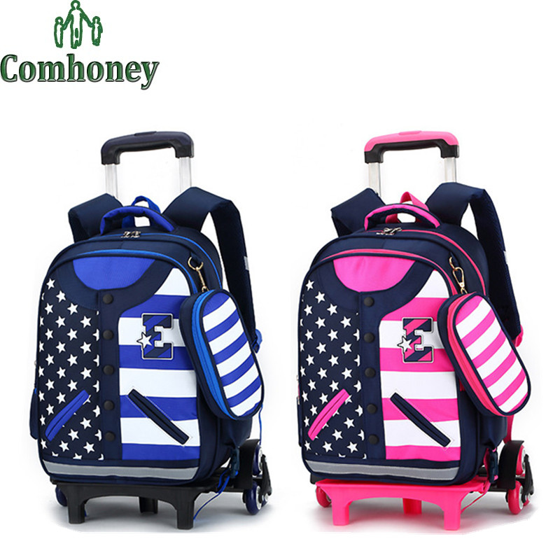 685991e7ecf4 Childrens Rolling Backpack