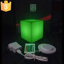 4 шт светодиодные кубики для украшения дома 13 х13х13 см 16