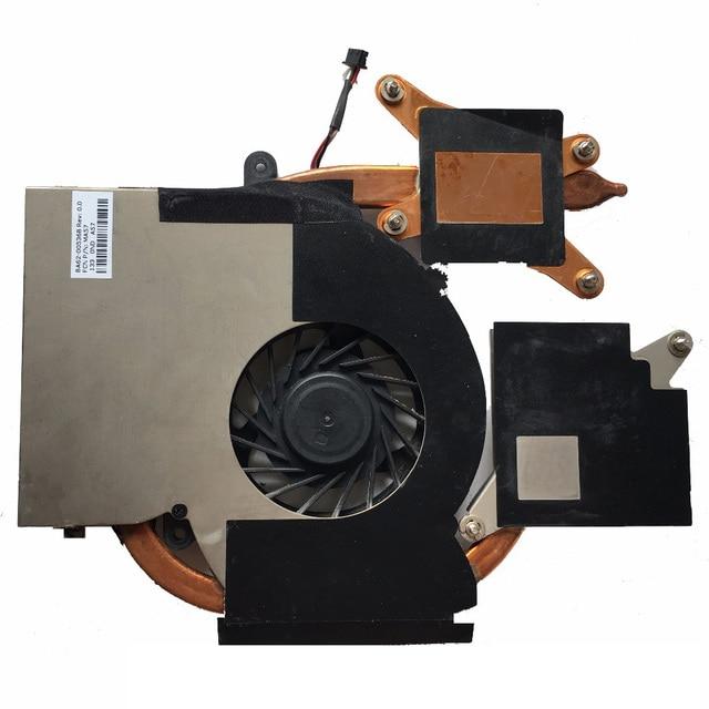 Original Para Samsung RF510 RF710 RF511 RF711 RC730 RC530 Laptop CPU Cooler Fan Dissipador de Calor BA62-00536B FA57 DFS65160 100% de Trabalho