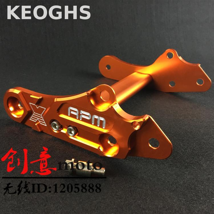 Keoghs Motorcycle Engine Hanger Frame High Quality Cnc Aluminum For Reinforce For Yamaha Scooter 100cc Rsz Force Jog keoghs motorcycle high quality personality swingarm swinging arm rear fork all cnc for yamaha scooter bws cygnus honda modify
