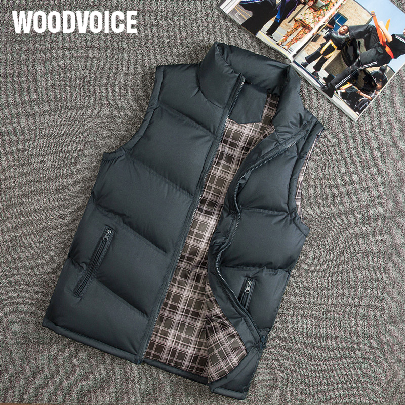 Vest Men New Stylish 2019 Autumn Winter Warm Sleeveless Vest Jacket Men Slim Fit Vest Casual Coats Mens Waistcoat West Mannen 88