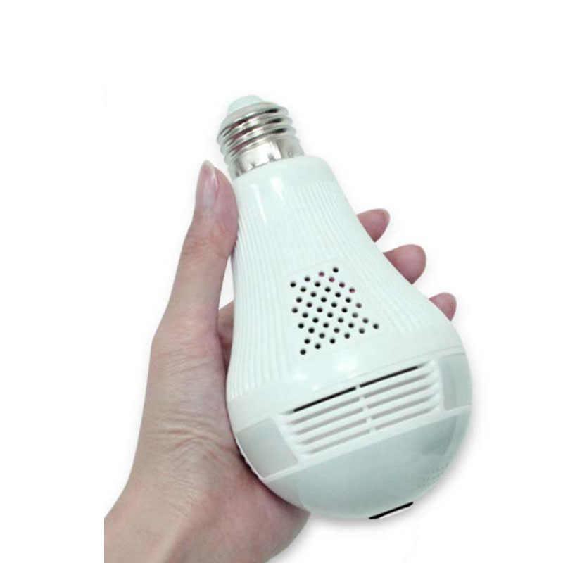 3MP 2MP 1.3MP Беспроводная ip-камера лампочка рыбий глаз 360 градусов 3D VR мини панорамный домашний CCTV Wi-Fi камера системы безопасности IP