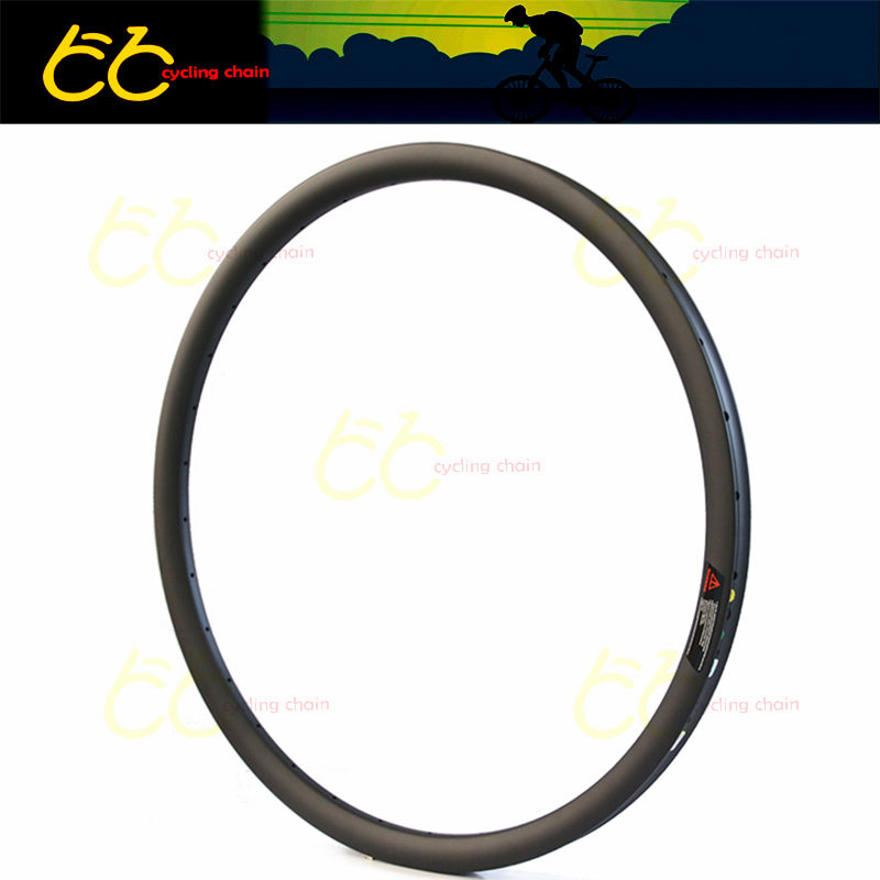 650B Carbon Hookless MTB Rim 50mm Width and 30mm profile