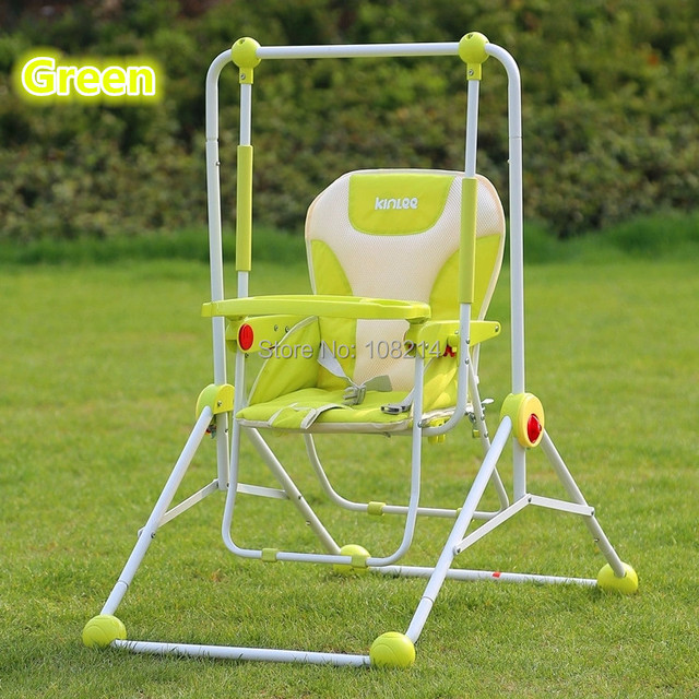 swing chair baby best ergonomic sydney multi purpose dining outdoor garden toys red blue green foldable service wholesale