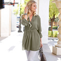Kaigenina новинка горячая распродажа женщины эластичный платье шифон платья, модный платье  и чистый цвет  платья 1189