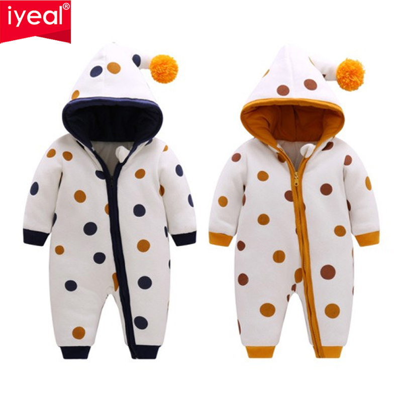 IYEAL Newest Baby Rompers Winter Baby Girls Clothes Cute Hooded Soft Warm Fleece  Newborn Toddler Overalls Kids Infant JumpsuitsIYEAL Newest Baby Rompers Winter Baby Girls Clothes Cute Hooded Soft Warm Fleece  Newborn Toddler Overalls Kids Infant Jumpsuits