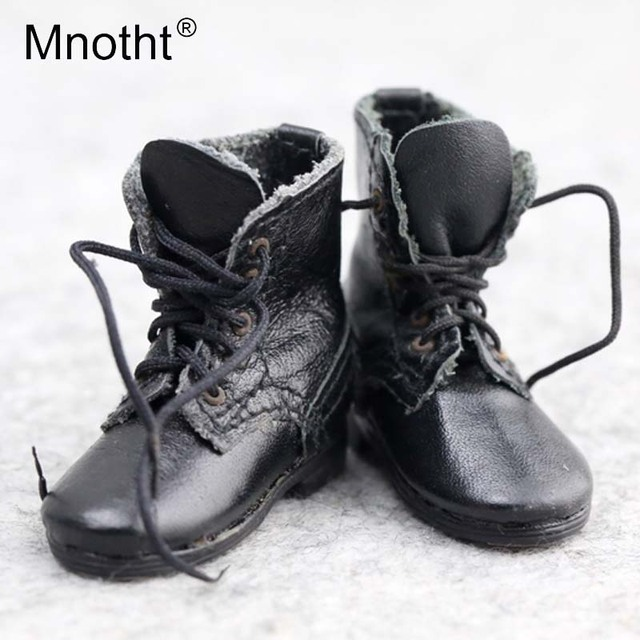 0f1a1beb81d US $15.46 9% OFF|1/6 Scale Soldier Shoes Black Combat Boots WWII German  Army SS Battle Boots For 12inch Action Figure Model Toys Collection m3-in  ...
