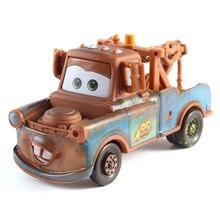 Coches Disney Lightning McQueen todos los estilos Pixar Cars 2 3 equipo de carreras Mater Metal Diecast coche de juguete 1:55 Loose Disney cars2 y Cars3