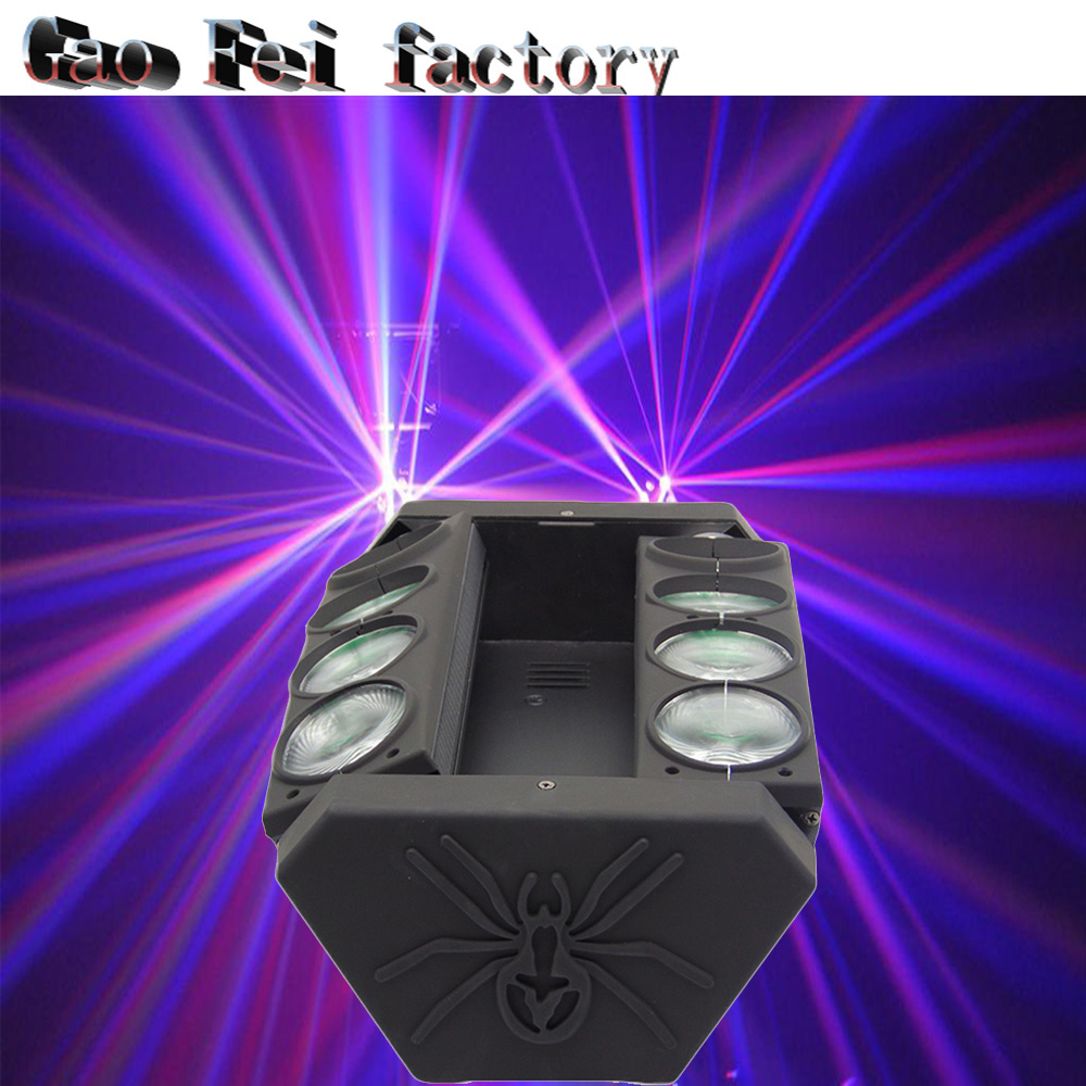 Direct selling of factories 8x12W RGB MIni LED Spider Moving Head Lights LED Disco Club China Party Dj Stage Bar LightDirect selling of factories 8x12W RGB MIni LED Spider Moving Head Lights LED Disco Club China Party Dj Stage Bar Light