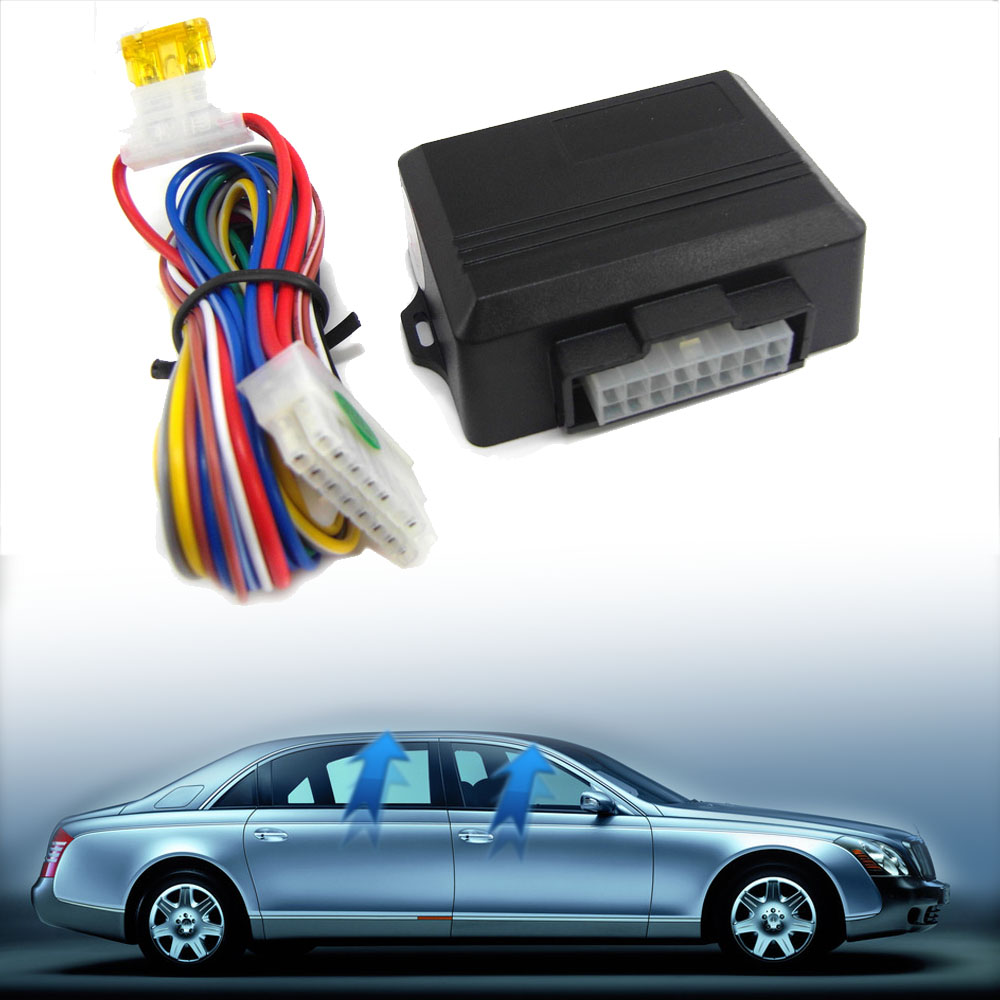 Universal Car Alarm Systems Universal Car Power Window Roll Up Closer For 4 Doors Dropshipping