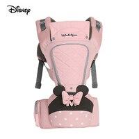 Disney Original Brand Infants Babies Carrier Front Holding Sling Backpack Multifunctional Toddler Detachable Waist Sitting Stool
