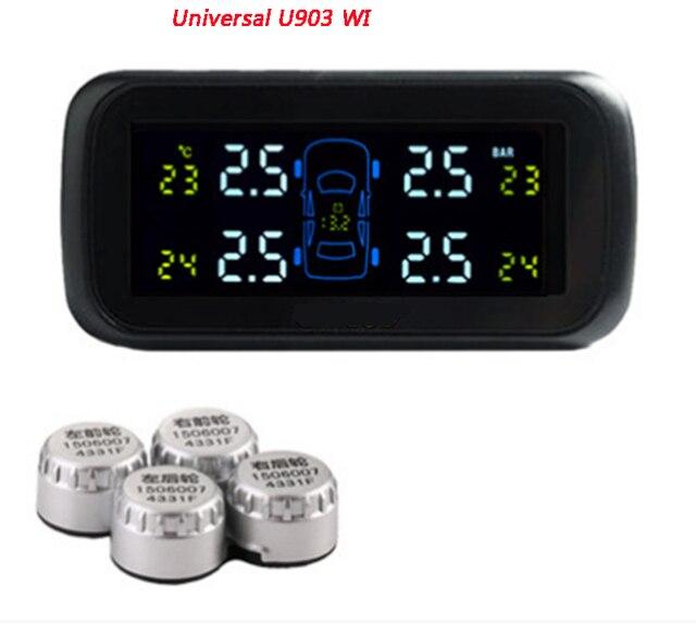 Careud U903 4 внешних датчиков минимальный датчик системы контроля давления в шинах автомобилей TPMS PSI / бар Careud TPMS диагностический инструмент