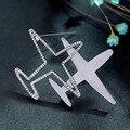 Accesorios de tendencia salvaje avión broche pin collar broche de moda Japonesa y Coreana de la carta tridimensional 1097