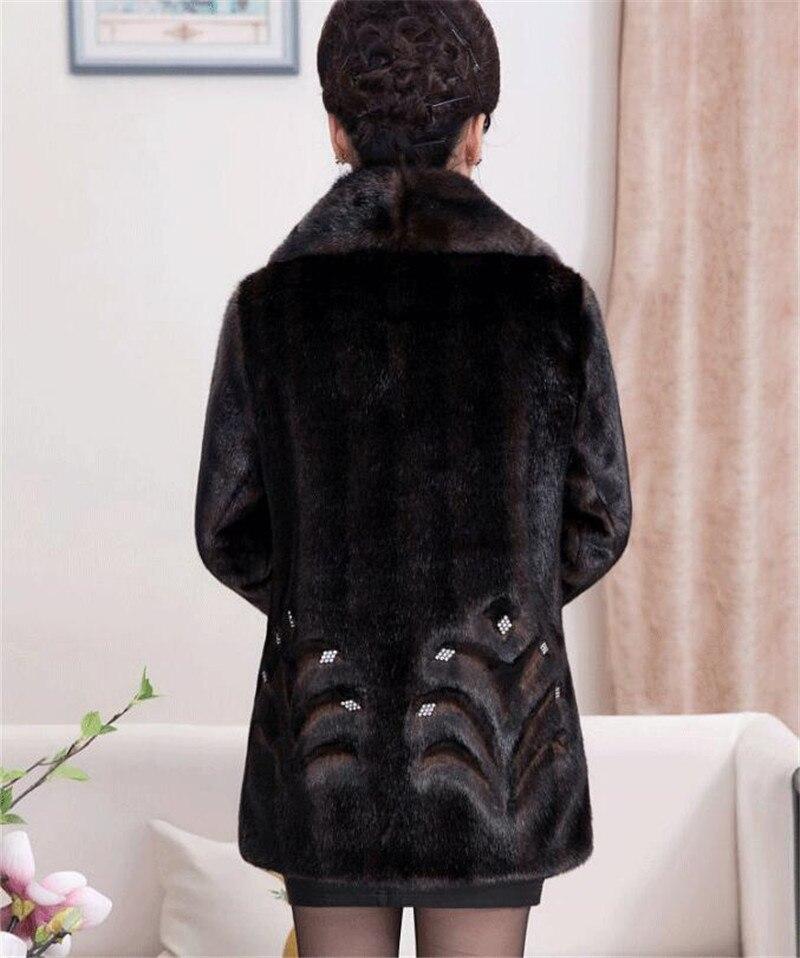 HTB1.quTKXuWBuNjSszbq6AS7FXaW 2020 Winter Women's Fur Coat Faux Mink Fur Jackets Plus size 5XL Middle aged Female Diamonds Thicken Noble Fur Coats OKXGNZ 2138