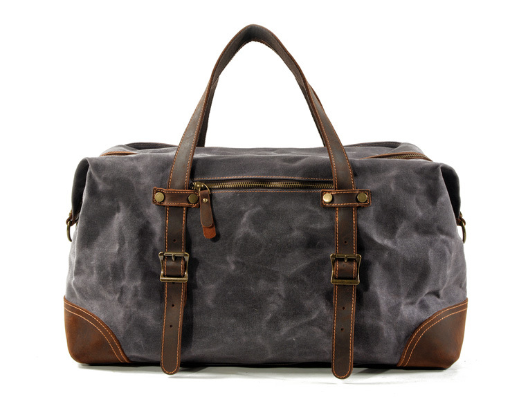 exterior aspects of the satchel duffle bag from Eiken