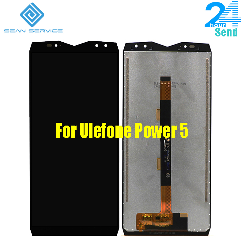 Para Poder 5 Ulefone Originais Display LCD + Touch Screen Digitador Assembléia Ferramentas FHD 6.0