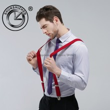 High quality X Men suspender brace with 4 clips