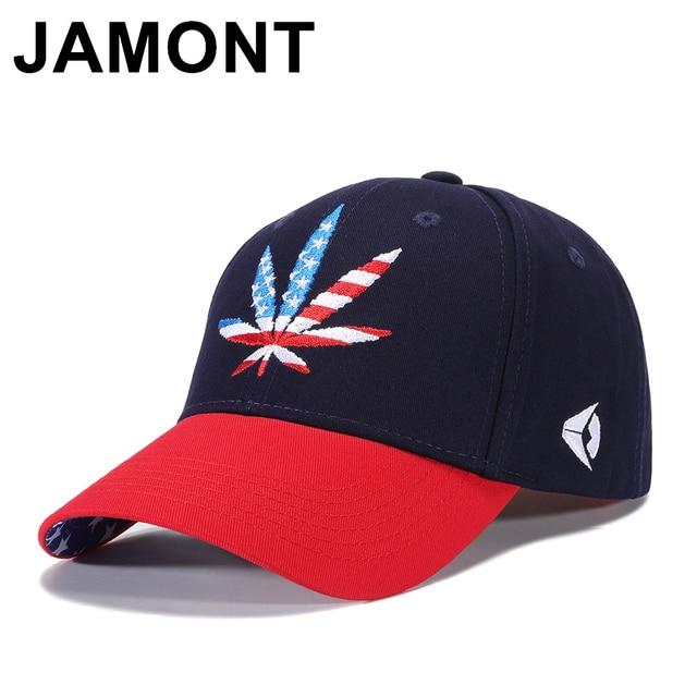 58b6b952fab24 Jamont diseño bandera americana gorra de béisbol hombres mujeres ajustable  Polo Dad Hat Hip Hop Gorras